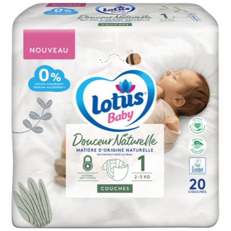 Couches Douceur Naturelle LOTUS BABY 2