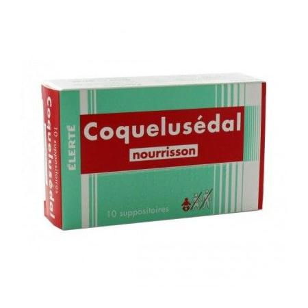 Suppositoires Coquelusedal nourrisson 1