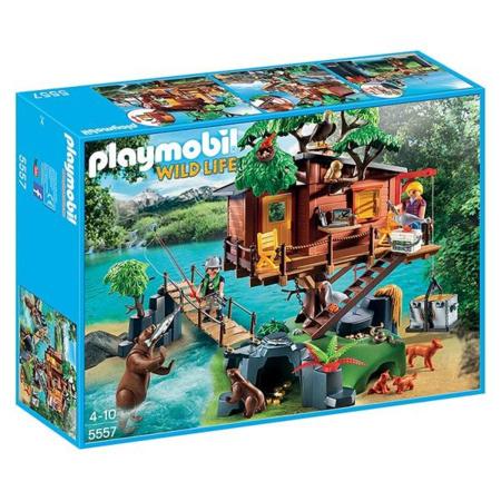 Cabane des aventuriers dans les arbres PLAYMOBIL 1
