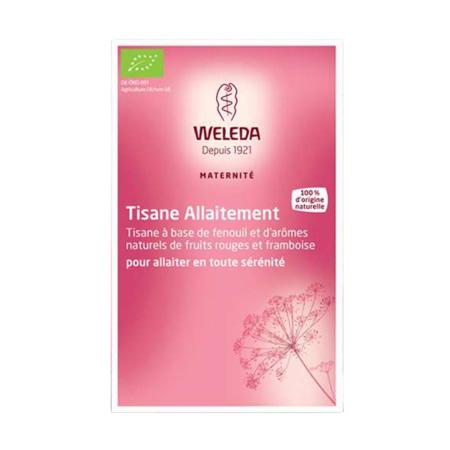 Tisane allaitement fruits rouges WELEDA 1