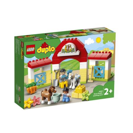 Ma ville - L'écurie et les poneys DUPLO LEGO 1