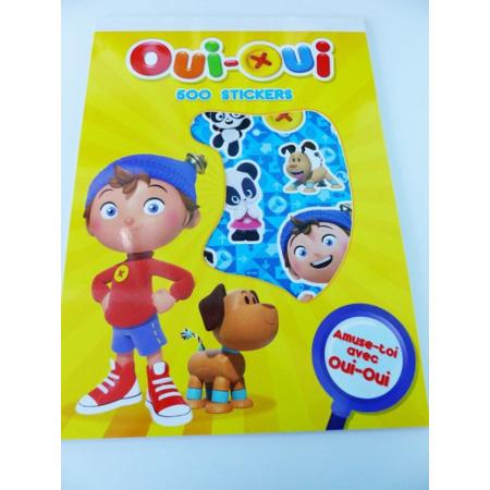Bloc de 500 gommettes stickers Oui-Oui - 1