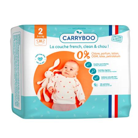 Couches écologiques dermo-sensitives CARRYBOO 2