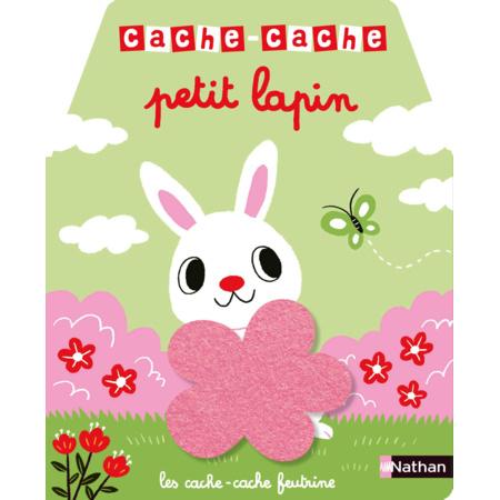 Livre Cache-cache petit lapin NATHAN 1