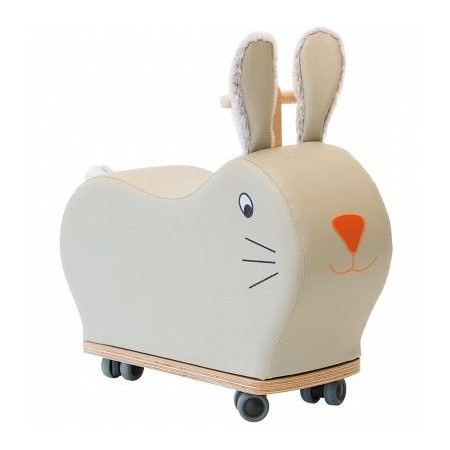 Porteur roue folle Lapin MOULIN ROTY 1