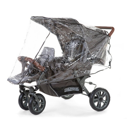 Habillage pluie poussette 3 places CHILDHOME 1