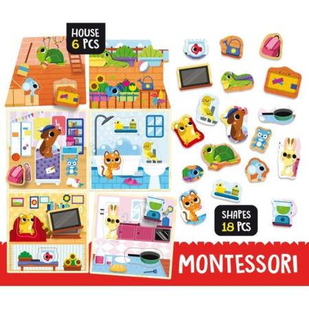 Jeu Montessori Pet House LISCIANI 2