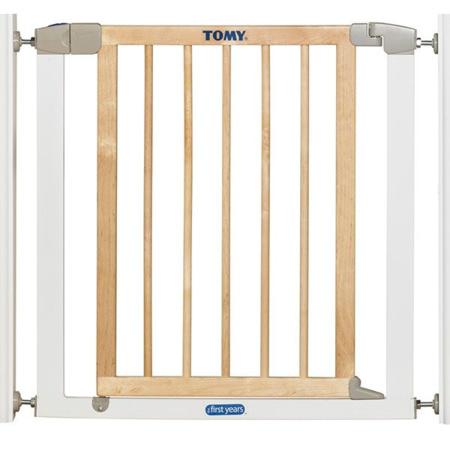 Barrière de porte métal et bois 1
