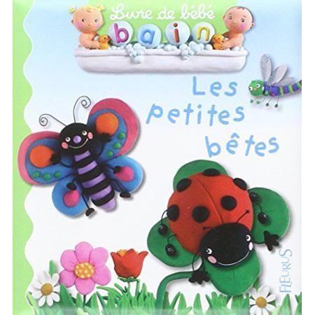Livre de bain Les petites bêtes FLEURUS 1