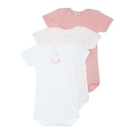 Body bébé manches courtes (x3) 1