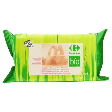 Lingettes bébé sans parfum bio 1