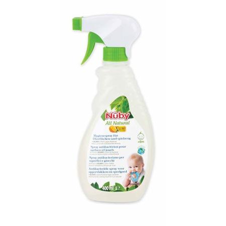 Spray anti-bactérien toutes surfaces NUBY 1