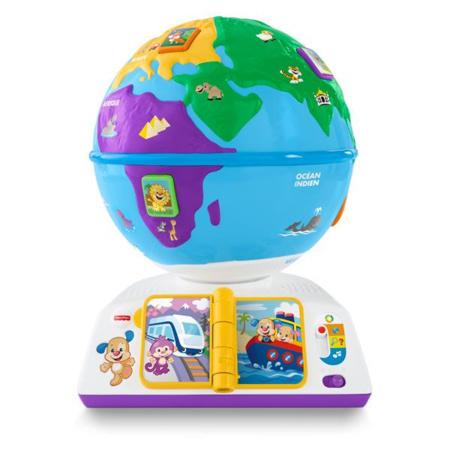 Globe terrestre de Puppy FISHER PRICE 1