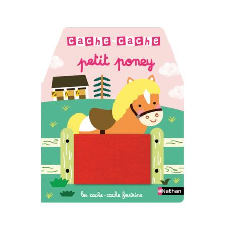 Livre Cache-cache petit poney NATHAN 1