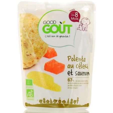 Polenta de Céleri au Saumon GOOD GOUT 1