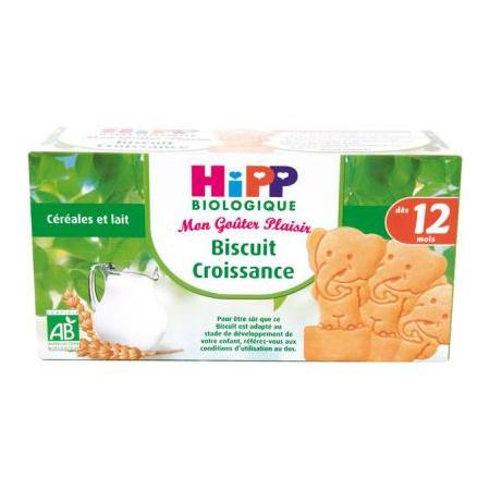 Biscuits croissance à la Pomme - boîte 150g - 12 mois 1