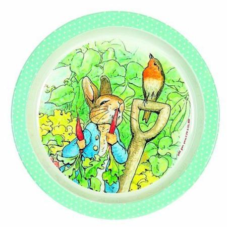 Assiette Peter Rabbit PETIT JOUR 1