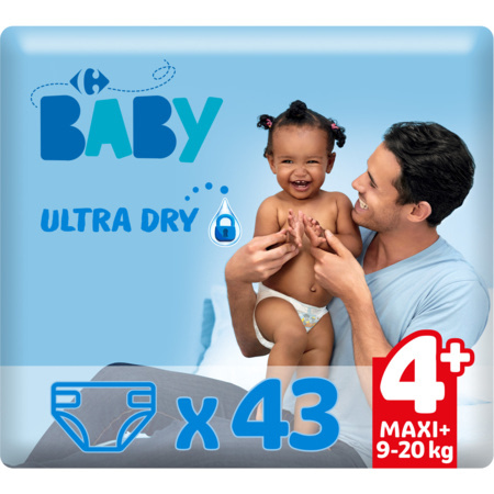 Couches Ultra Dry MY CARREFOUR BABY 3