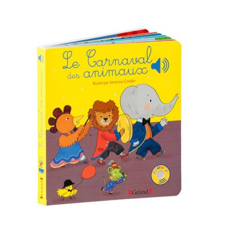 Livre Le Carnaval des animaux GRUND 1