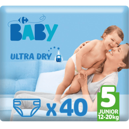 Couches Ultra Dry MY CARREFOUR BABY 1