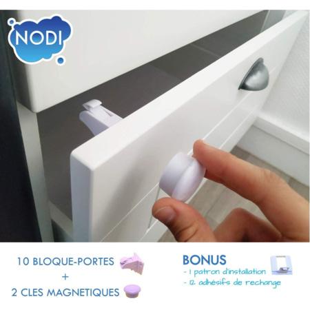 Bloque Porte Invisible NODI 1