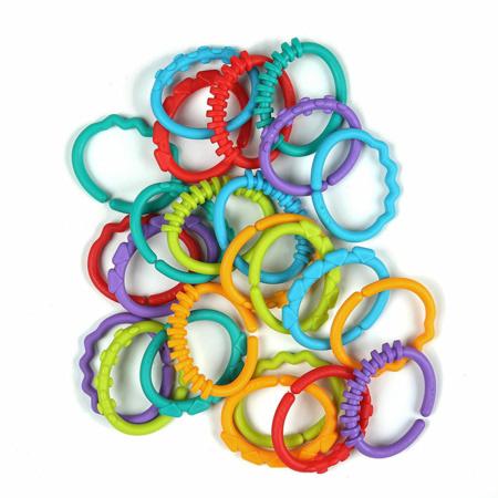 Jeu de forme - Anneaux Multicolores BRIGHT STARTS 1