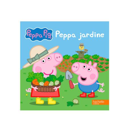 Livre Peppa Pig jardine HACHETTE JEUNESSE 1
