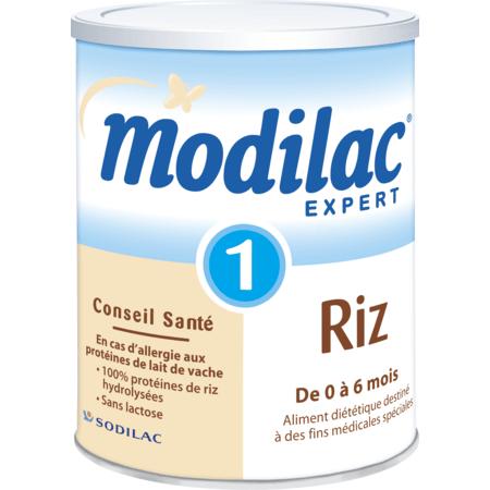 Lait Expert Riz 1er âge 800 g MODILAC 1