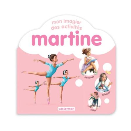 Livre Martine, Mon imagier des activités CASTERMAN 1
