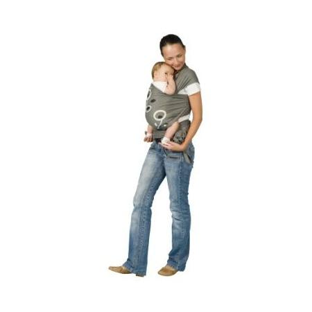 Porte-bebe écharpe Bio à nouer BABYMOOV 1