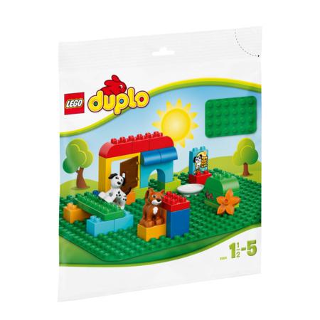 Duplo - Grande plaque de base verte LEGO 2