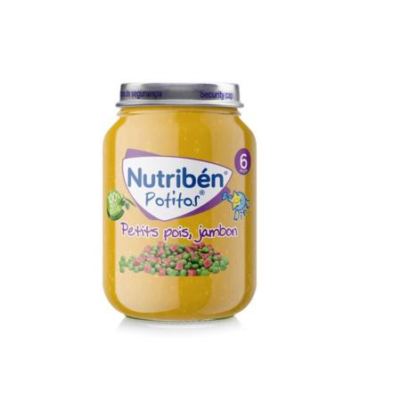 Potito petit pois jambon 190g NUTRIBEN 1