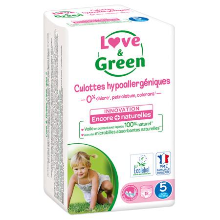 Culottes d'apprentissage écologiques LOVE AND GREEN 2