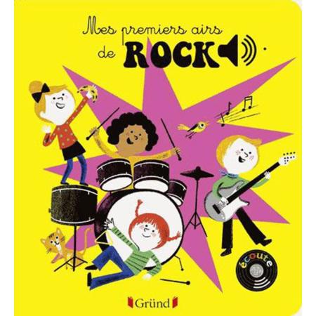 Livre sonore Mes premiers airs de rock 1