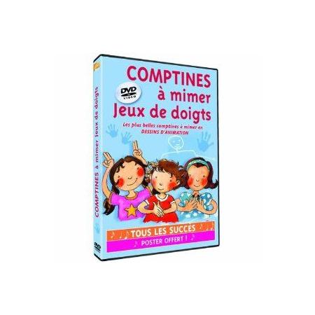 DVD Comptines à mimer : jeux de doigts 1