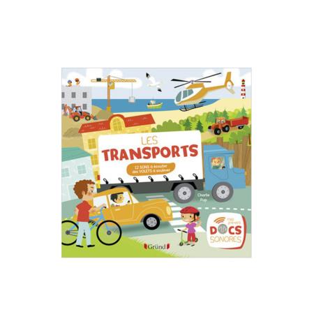 Livre sonore Les transports GRUND 1