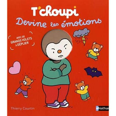Livre T'Choupi devine les émotions NATHAN 1