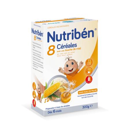 8 céréales et miel NUTRIBEN 1