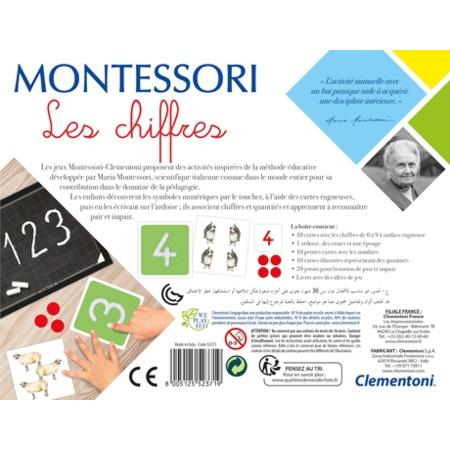 Montessori - Les chiffres CLEMENTONI 2
