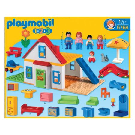 Playmobil 1.2.3 - Coffret Grande Maison PLAYMOBIL 1