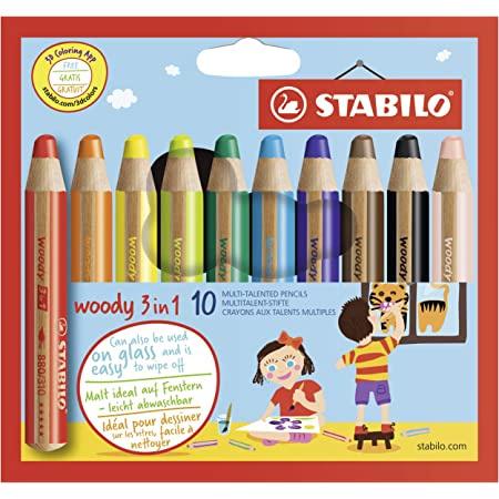 Crayons multifonctions woody 3 en 1 STABILO 1