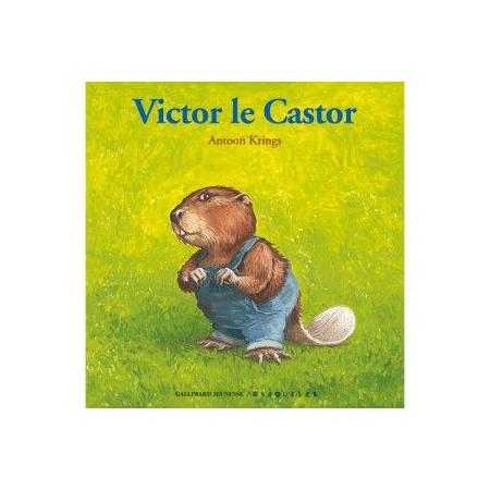Livre Drôles de petites bêtes : Victor le castor 1