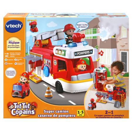 Tut Tut copains - Super camion caserne de pompiers VTECH 1
