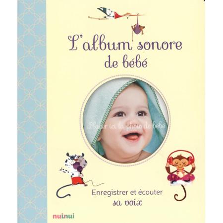L'album sonore de bébé - enregistrer et écouter sa voix - 1
