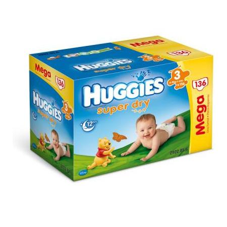 HUGGIES Super-Dry T3 4-9 kg HUGGIES 1