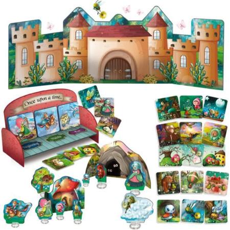 Jeu éducatif Montessori - Inventer Des Contes LISCIANI 1