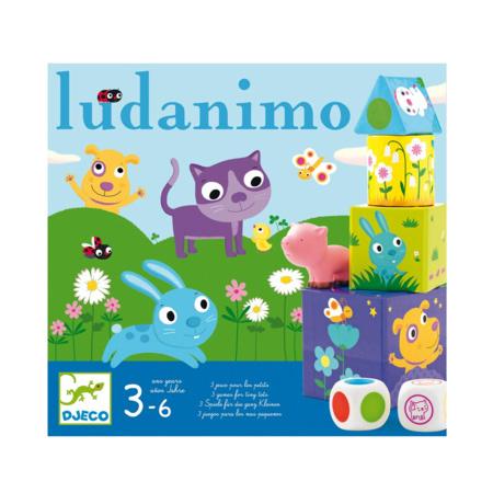 Jeu de société - Ludanimo DJECO 1