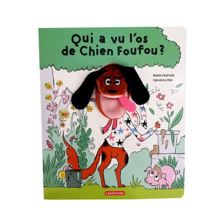 Livre Qui a vu l'os du chien Foufou ? CASTERMAN 1