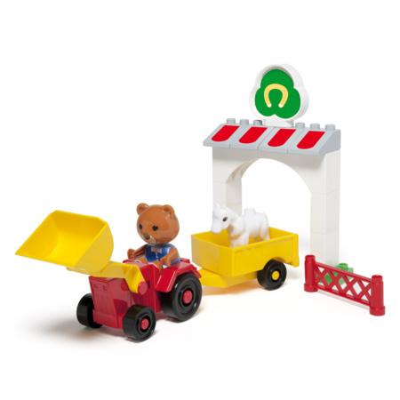 Briques à construire Bricky La Mini ferme OXYBUL 1