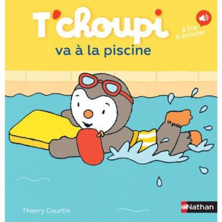 Livre T'choupi va à la piscine NATHAN 1